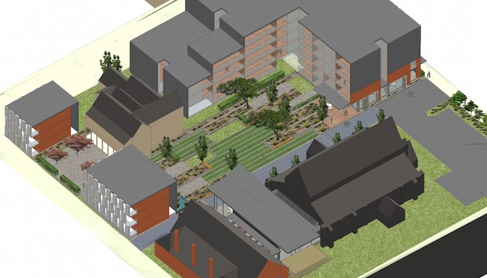 3D view of Melbourne Church & Development