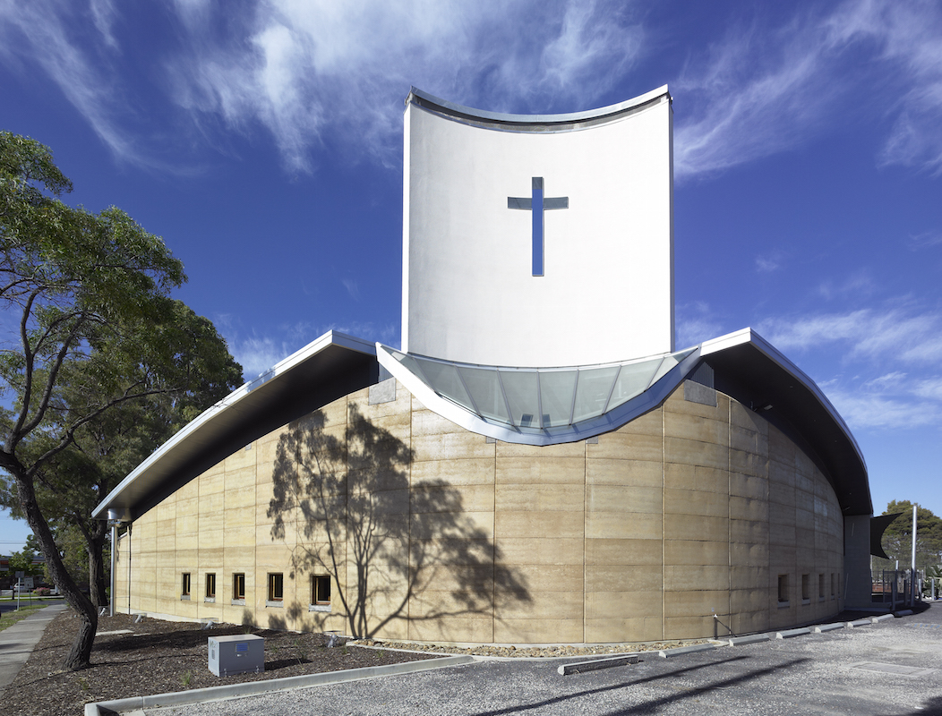 St Alfred's Anglican Church thermal chimney