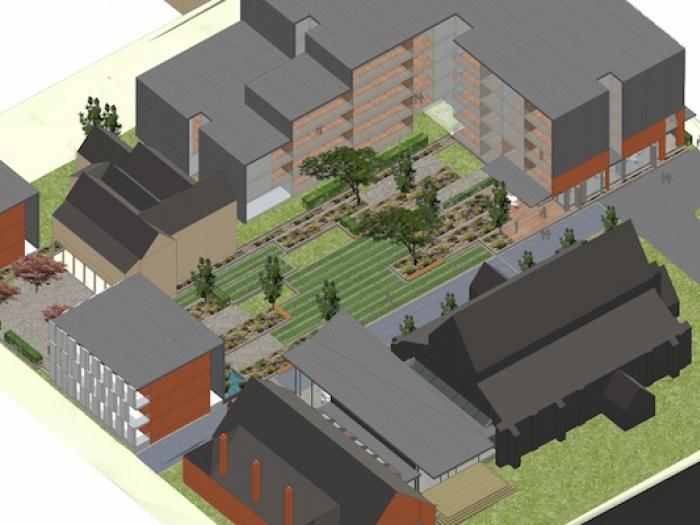 3D view of Melbourne Church & Development