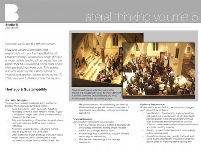 Vol. 5: Heritage and Sustainability
