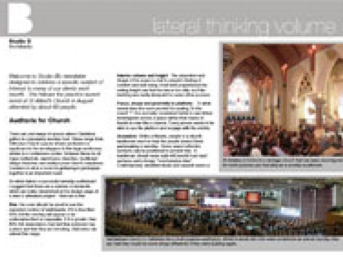 Vol. 1: Auditoria for Church